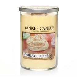 Yankee Candle Large 2-Wick Tumbler Candle, Vanilla Cupcake
