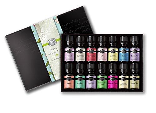 Spring Set of 14 Premium Grade Fragrance Oils – 10ml