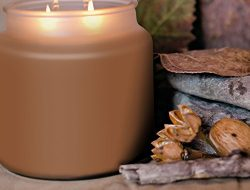 Strong Scented Candle Authentic Pumpkin Pie 16oz Soy Candle