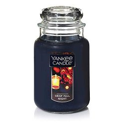 Yankee Candles Crisp Fall Night Large Jar Candle,Fresh Scent