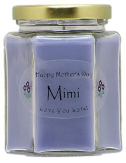 Just Makes Scents Mimi Mothers Day Candle – Lavender Scented Mothers Day Gift Candle &#821 ...