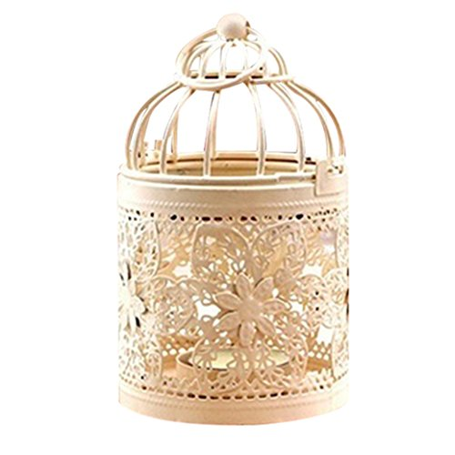 Colorido Antique Moroccan Style Hollow Lantern Candle Holder Stand Home Decor size 3 (3)