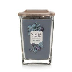 Yankee Candle Company Elevation Collection with Platform Lid Large | 2-Wick Dark Berries