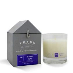Trapp Signature Home Collection No. 71 Indigo Acai Poured Scented Candle, 7-Ounce