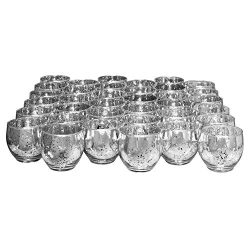 Candle Holder Glass Votive for Wedding, Birthday, Holiday & Home Decoration by Royal Imports ...