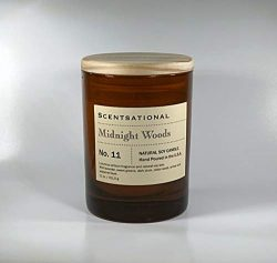 Scentsational Candle – Midnight Woods – Number 11 (Man Candle)