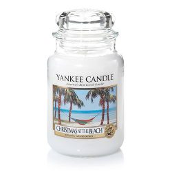 Yankee Candle Christmas at The Beach Large Jar Candle, Fresh Scent
