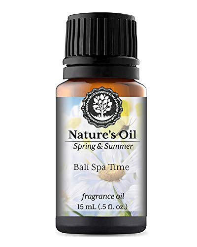 Bali Spa Time Fragrance Oil (15ml) For Diffusers, Soap Making, Candles, Lotion, Home Scents, Lin ...