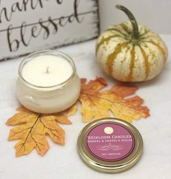 Hansel & Gretel's House Holiday Spice Scented Soy Candle – Handmade, 6oz