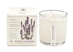Heath Lavender Soy Candle with Plantable Box