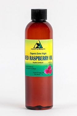 Red Raspberry Seed Oil Organic Unrefined Extra Virgin Cold Pressed Pure 4 oz
