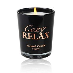 TQQFUN Premium Scented Candles Soy Candles Aromatherapy Candles 45-50 Hours Long Burning Time fo ...