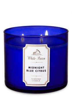 White Barn Midnight Blue Citrus 3-Wick Candle