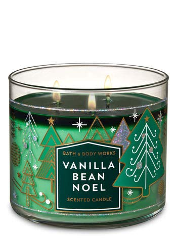 Bath and Body Works Vanilla Bean Noel 3 Wick Scented Candle 14.5 Oz - candlesme | candlesme