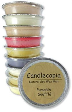 Candlecopia Vanilla Hazelnut, Pumpkin Soufflé, Seriously Cinnamon, Baked Apple Pie and More! Str ...