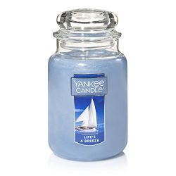 Yankee Candle Large Jar Candle, Life's a Breeze