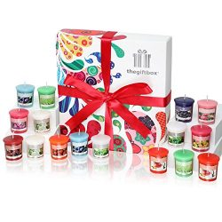Scented Candles Gift Set. 16 x Scented Candles. Candles Gift Set are Luxury Birthday Gifts for W ...
