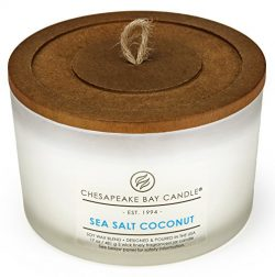 Chesapeake Bay Candle 3-Wick Scented Candle, Sea Salt Coconut Coffee Table