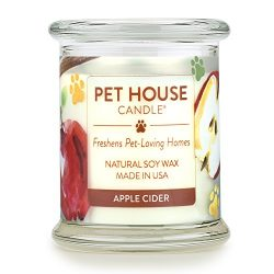 One Fur All 100% Natural Soy Wax Candle, 20 Fragrances – Pet Odor Eliminator, Up to 60 Hou ...