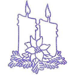 Cheery Lynn Designs DL174 Christmas Candlelight