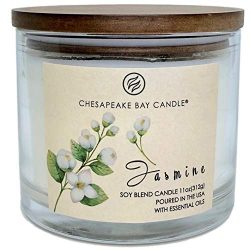 Jasmine Scented Candle with Two Wicks Made in The USA