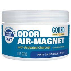 Natural Magic Air Purifying Charcoal Odor Eliminator for Car Closet Bathroom and Pet Area Captur ...
