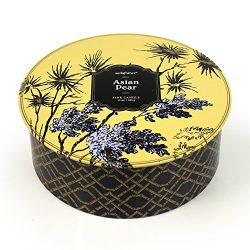 Seda France Jardins Du 3-Wick Candle Tin, Asian Pear, 12 Ounce