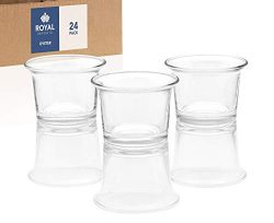 Royal Imports Candle Holder Glass Votive for Wedding, Birthday, Holiday & Home Decoration, O ...