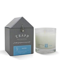 Trapp Signature Home Collection No. 20 Water Poured Scented Candle, 7-Ounce