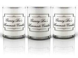 Granny Bee Votive Scented Candle Set – Cozy Winter Candle Sample Pack – Fresh Pine,  ...