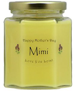 """Mimi"" Mothers Day Candle – Honeysuckle Scented Mothers Day Gift Candle – ..."