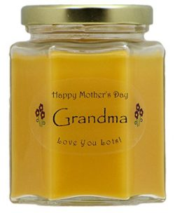 Just Makes Scents Grandma Mothers Day Candle – Mango Papaya Scented Candle – Hand Po ...