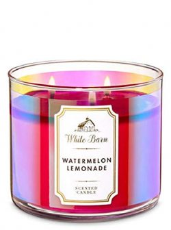 White Barn Scented 3-Wick Candle in Watermelon Lemonade (2019)