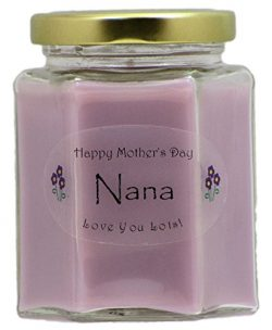 """""""Nana"""" Mothers Day Candle – Lilac Scented Mothers Day Gift Candle – Hand ..."""