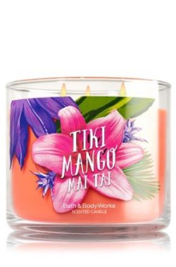 Bath & Body Works Tiki Mango Mai Tai 2016 3 wick candle