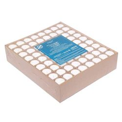 Hosley Set of 144 Unscented White Votive Candles up to 10-Hours. Bulk Buy. Wax Blend. Ideal for  ...