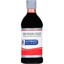 McCormick Culinary Red Food Color, 16 fl oz, Premium Quality, Consistent Color, Perfect for Vale ...