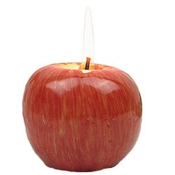 Creaon Red Apple Shaped Candle Smokeless Tea Light Candles for Valentine's Day Wedding Par ...