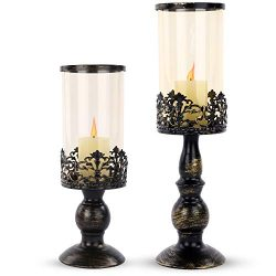 SMEL 2pcs Creative European Candle Holders Candlelight Dinner Wedding Romantic Candlesticks Hous ...