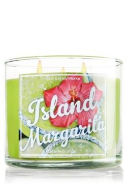 Bath & Body Works Candle 3 Wick 14.5 Ounce Island Margarita