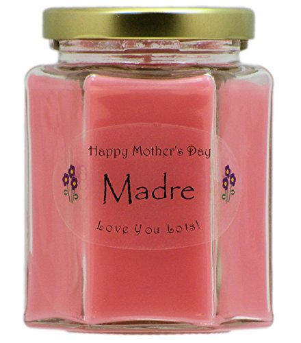 Just Makes Scents Madre Mothers Day Candle – Fresh Cut Roses Scented Candle – Hand P ...