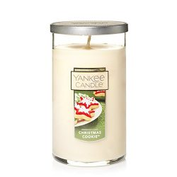 Yankee Candle Medium Perfect Pillar Candle, Christmas Cookie