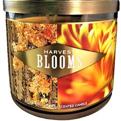 Bath Body Works 3-Wick Scented Candle Harvest Blooms 14.5 Ounce