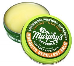 Murphy's Naturals Mosquito Repellent Balm | Anti-Mosquito DEET Free Plant-Based Ingredient ...