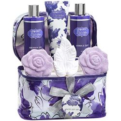 Mother's Day Gifts, Bath and Body Gift Set For Women and Men – Lavender and Jasmine Home S ...