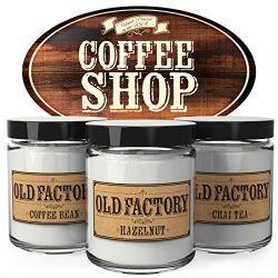 Old Factory Scented Candles – Coffee Shop – Decorative Aromatherapy – Handmade ...
