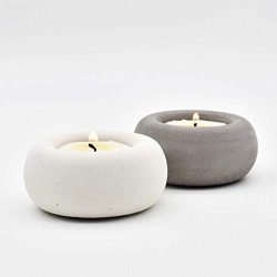 Candle Molds New Silicone Mold Candlestick Concrete Flower Pot Mould Home Crafts Decorations Cem ...