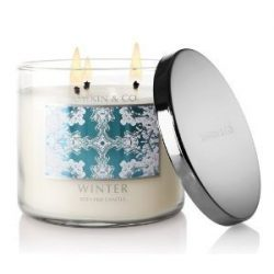 Bath & Body Works Slatkin and Co. Three Wick 14.5 Oz. Scented Candle – Winter