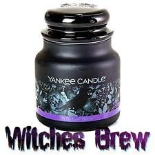 Yankee Candle Halloween Witches' Brew Candle – Medium Classic Housewarmer Jar 14.5 o ...