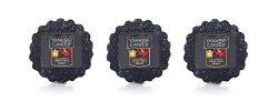 Yankee Candles Lot of 3 Crisp Fall Night Tarts Wax Melts …